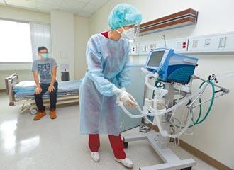 僅剩298床 張上淳憂負壓病房不夠 加緊整備