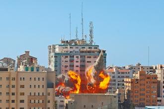 以巴戰火升高 外媒總部遭炸毀