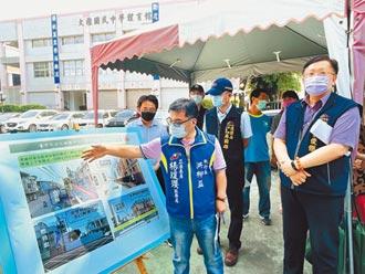 楊瓊瓔爭取1175萬經費 改善大雅國中小通學道