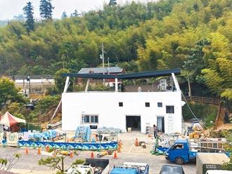 嘉縣太平村汙水處理廠 7月完工