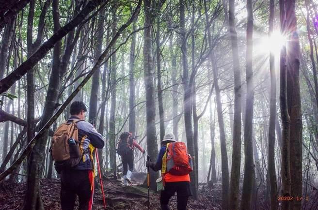 挑戰攀登谷關七雄活動相當熱門,台中市觀旅局為減少非必要人員流動及群聚接觸,宣布截止期限延至11月14日。(本報資料照片)