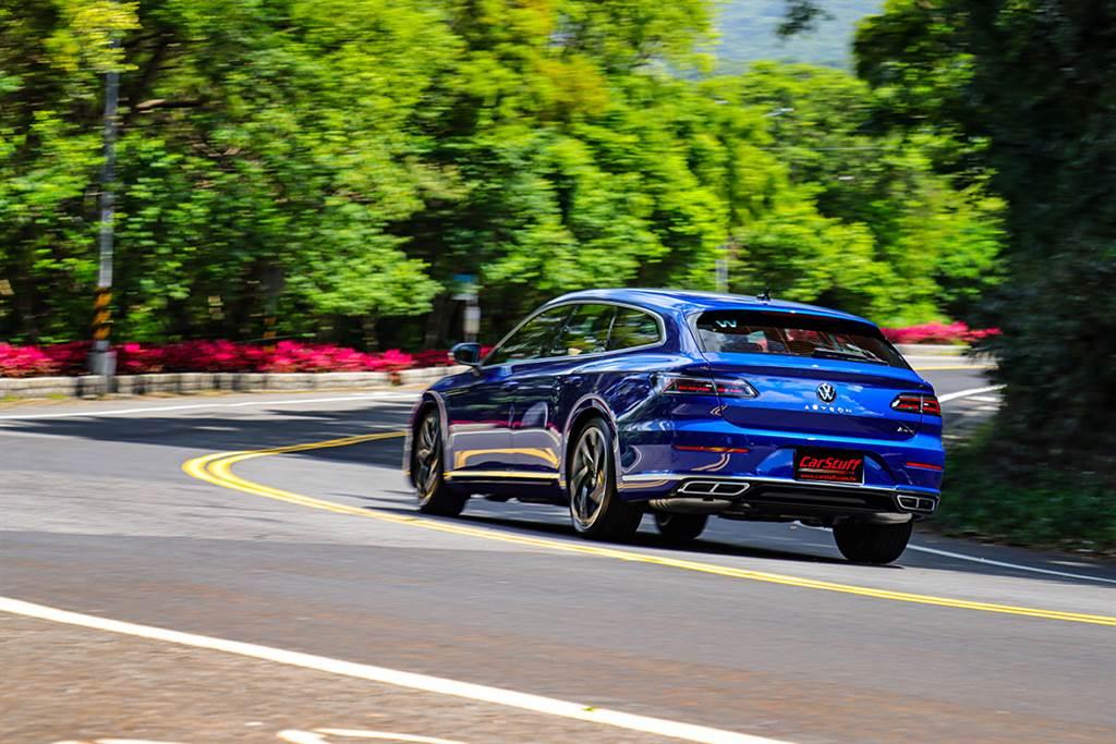 以德意志美學重新詮釋獵跑,2021 Volkswagen Arteon Shooting Brake 380 TSI R-Line Performance