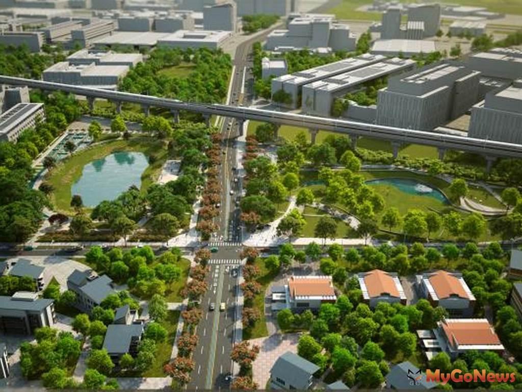 台南市南科特定區開發區塊F、G區段徵收工程 啟動台南經濟成長引擎(圖/台南市政府)