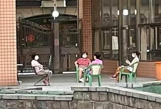 防疫教科書!社區阿姨群聚照曝光 2萬人讚:台灣有救了