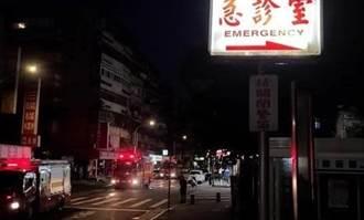 和平醫院前自助餐廳竄濃煙 因疫情歇業二周首日就遭大火