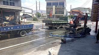 自來水管破管破裂 阿蓮、岡山停水影響逾1.3萬人