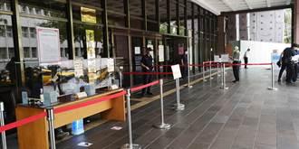 疫情延燒台北地院戒備 立委貪汙等3大案暫停審理