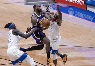 NBA》湖人力退鵜鶘仍掉西區第7 附加賽將遇勇士