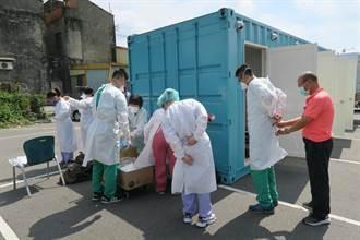 彰化醫院進駐全國麗園大飯店 火速完成165員工篩檢
