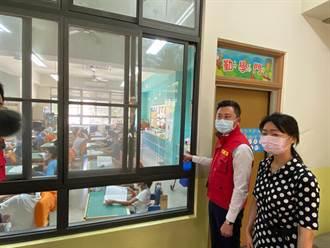 戴口罩不怕熱 竹市46校國中小今起每班有冷氣