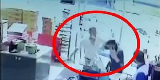 影》進超商不戴口罩拒實聯 男子出拳暴打店員 警移送開罰