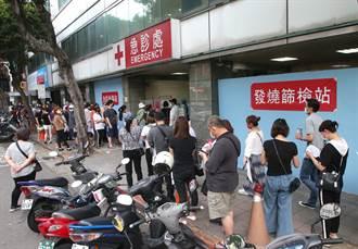 台北西區高風險民眾慌 檢疫站清晨人潮炸裂搶預約