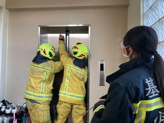基隆1萬7300戶停電 已接獲3起電梯受困案件