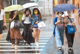 鋒面逼近雨區擴大 周二起這3區嚴防大雨