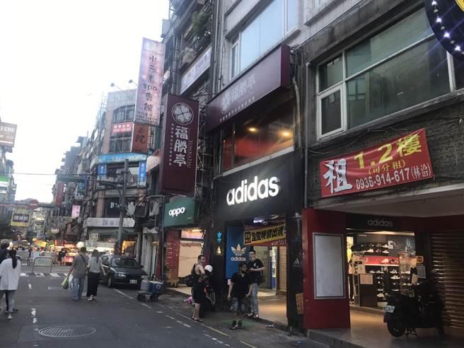 男高中生曾在在愛四路45號福勝亭用餐。(陳彩玲攝)