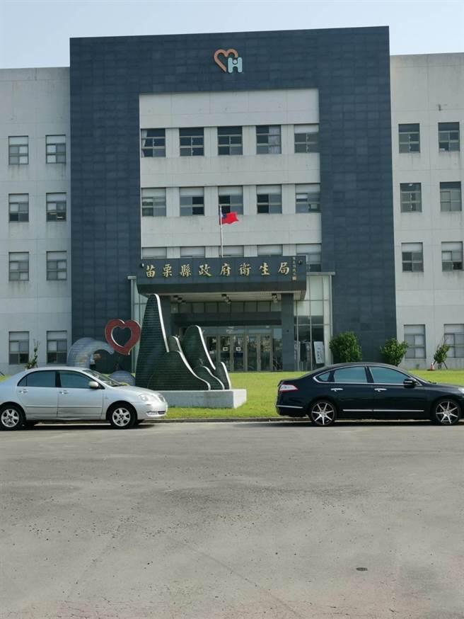 苗栗縣出現第1個確診案例,縣府衛生局已將個案安排回苗栗某醫院就診。(謝明俊攝)