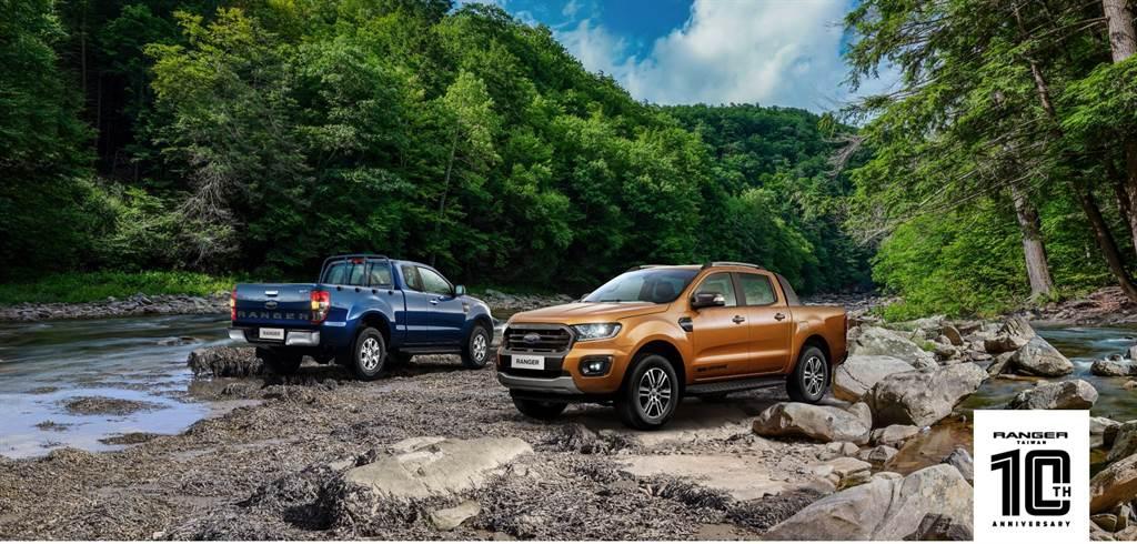 Ford Ranger提供職人型(售價104.8萬)/全能型(售價119.8萬)/運動型(售價149.8萬)多元車型。