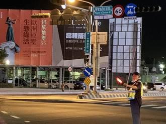 全台大停電,台南市緊急應變,排除路口通號誌停擺與電梯受困案件