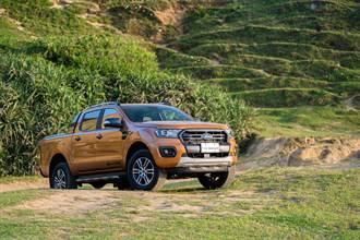 標配七氣囊、貨斗管理套件 21年式 Ford Ranger運動型升級上市