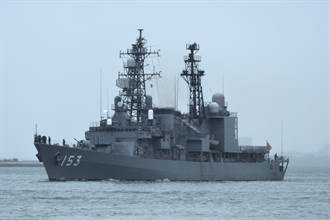 日本與美法澳海上演習 陸3軍艦南下通過沖繩