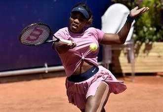 帕馬女網賽》暌違3個多月 小威又贏了