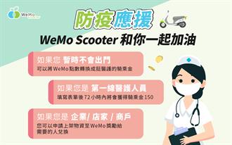 防疫同陣線!共享機車 WeMo Scooter 提供醫護人員免費騎乘金