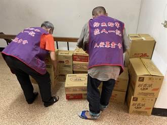 疫情升溫 台東人安基金會自炊餐改發乾糧