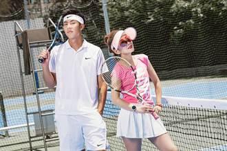 曲艾玲把191cm帥氣教練變師弟 劉丞擦肩《網球王子》真人版