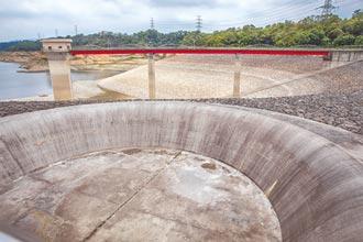 新竹寶二水庫創新低 北水擬增高溢流堰