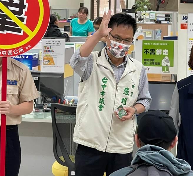 台中市議員張耀中之子墜露台亡,一周內痛失兩位至親,讓他哀慟不已。(資料照片)
