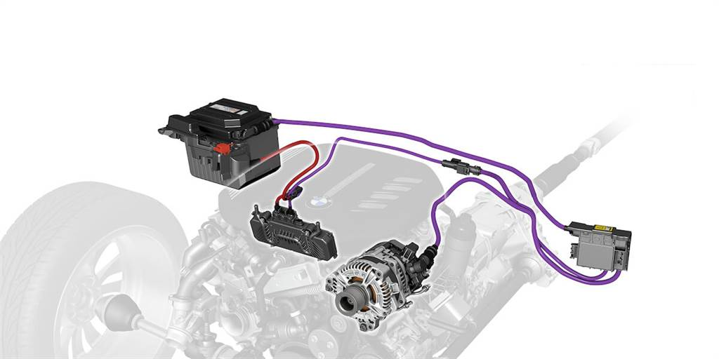 630i GT所配置的48V輕度混合動力系統,包括結合啟動器和發電機功能的電動馬達,可額外增加11hp,另外,滑行與煞車時動量都能夠回收,存儲在另一個48V鋰電池中,而由電動馬達控制的引擎啟閉系統,不僅能讓引擎在車輛停止時熄火,還可在低於15 km/h的速度下減速時關閉並與變速箱斷開連接。