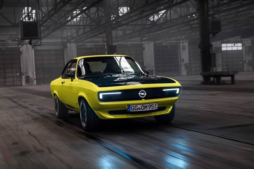 當老車轉型成為「電動車」會是什麼滋味?Opel Manta GSe ElektroMOD 亮相