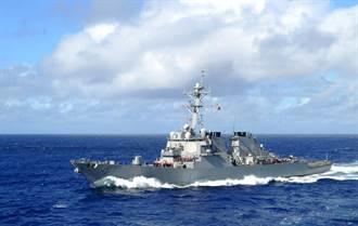 拜登上任後第五次 美驅逐艦通過台海
