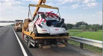司機過勞撞死2國道警1民眾 關係企業全罰10萬法院判撤銷