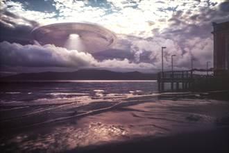 美軍艦直擊球形UFO盤旋入海 技術領先美國1000年