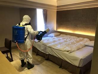 高雄防疫旅館入住率5成5 近期再增1千房量能