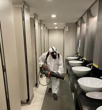 確診者曾至台茂購物中心 商場緊急全面消毒