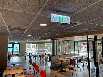 跟進麥當勞、漢堡王 摩斯全台停止內用