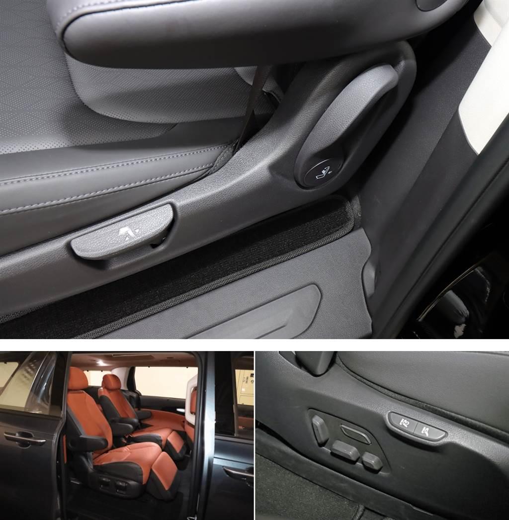 """七人座頂級版導入""""Premium Relaxation Seat'""""座椅,具備靠背調節、扶手和腳蹬等功能,只需按一下按鈕時能讓座椅傾斜至如同漂浮在零重力空間中,減輕集中在臀部和腰部的負荷,讓全車疲勞大幅消退。"""