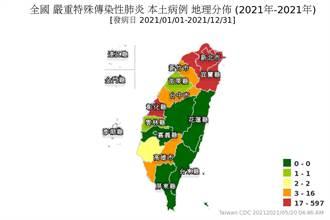 雙北破千例!最新確診地圖曝光 台南巿一夜變色