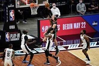 NBA》險些陰溝翻船 灰熊附加賽淘汰馬刺