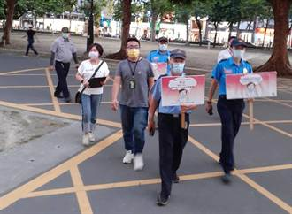 防疫第三級 高美館、高雄巿文化中心3男未戴口罩被開單
