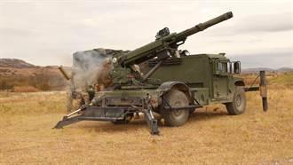 悍馬也能載105榴 美陸軍採購輕型輪式自走砲
