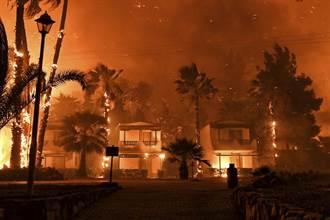 希臘森林大火疏散多處人員 尚未傳出傷亡消息