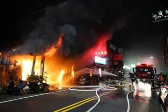 宜蘭市1樓建物火警 警義消搶救