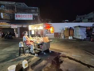 獨/47年最慘!士林夜市孤獨擺攤 72歲嬤嘆:日賺不到一千
