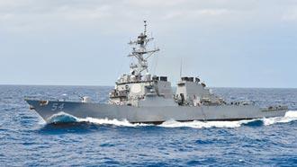拜登上任後 美軍艦五度穿越台海