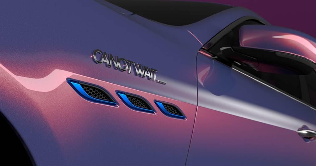 以愛為名!Maserati與潮流品牌CANOTWAIT_推出Ghibli Hybrid聯名車款