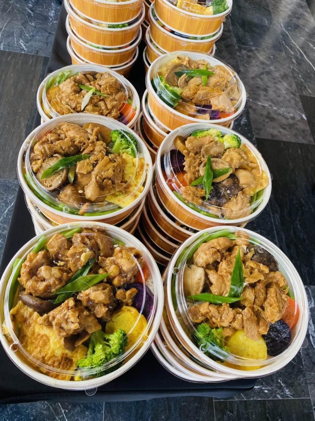 西餐「étage 15」推出五星級超值美味餐盒。(業者提供)