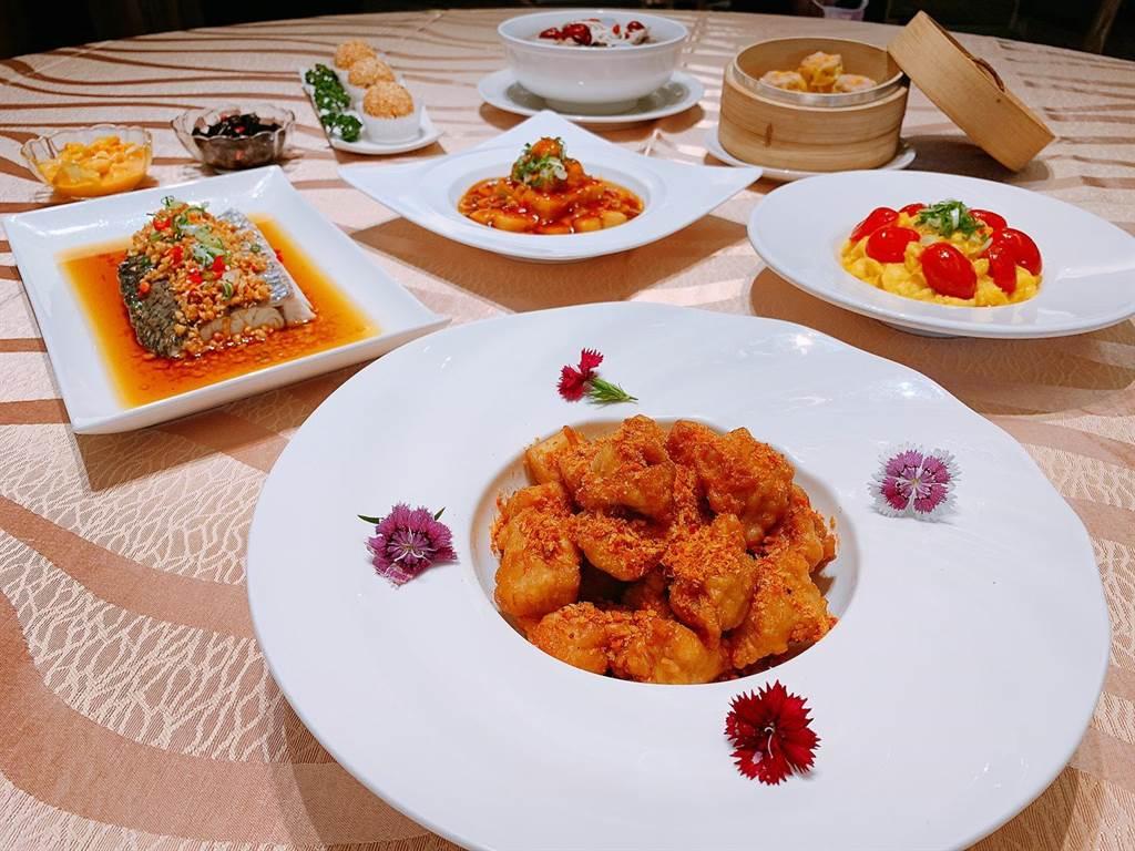 高雄福容飯店推出樂活家庭四人套餐。(業者提供)